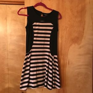 Cute summertime black and cream dress